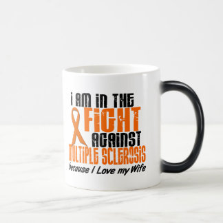 MS Multiple Sclerosis IN THE FIGHT FOR MY WIFE 1 Magic Mug