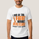 MS Multiple Sclerosis IN THE FIGHT FOR MY WIFE 1 Tee Shirt