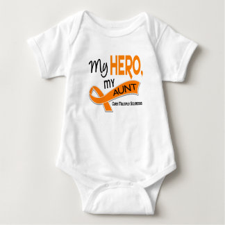 MS Multiple Sclerosis MY HERO, MY AUNT 42 Infant Creeper