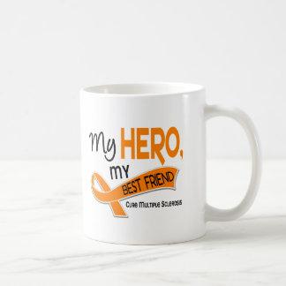 MS Multiple Sclerosis MY HERO MY BEST FRIEND 42 Coffee Mug