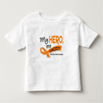 MS Multiple Sclerosis MY HERO MY DADDY 42 Toddler T-shirt