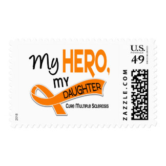 MS Multiple Sclerosis MY HERO MY DAUGHTER 42 Stamp