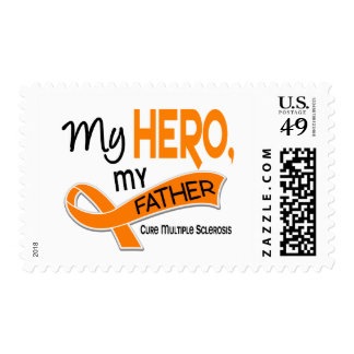 MS Multiple Sclerosis MY HERO MY FATHER 42 Stamp