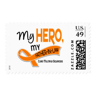MS Multiple Sclerosis MY HERO MY FATHER-IN-LAW 42 Postage Stamps