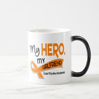 MS Multiple Sclerosis MY HERO MY GIRLFRIEND 42 Magic Mug