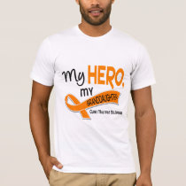 MS Multiple Sclerosis MY HERO MY GRANDDAUGHTER 42 T-Shirt
