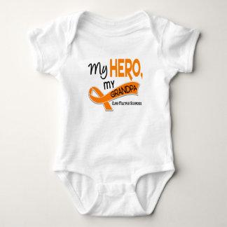 MS Multiple Sclerosis MY HERO MY GRANDPA 42 Infant Creeper