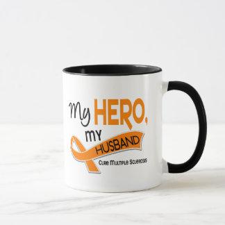 MS Multiple Sclerosis MY HERO MY HUSBAND 42 Mug