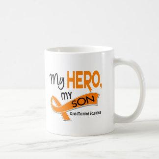 MS Multiple Sclerosis MY HERO MY SON 42 Coffee Mug