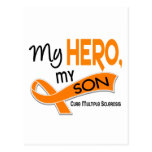 MS Multiple Sclerosis MY HERO MY SON 42 Postcards