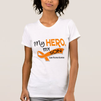 MS Multiple Sclerosis MY HERO MY SON 42 T-Shirt