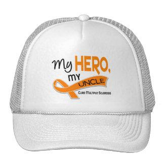 MS Multiple Sclerosis MY HERO MY UNCLE 42 Trucker Hat