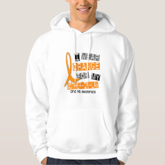 MS Multiple Sclerosis Orange For My Mother-In-Law Hoodie
