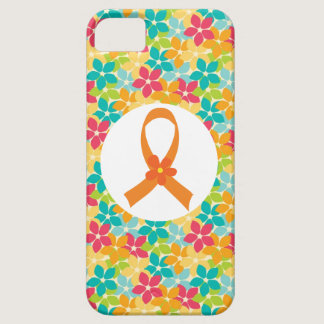 MS Multiple Sclerosis Orange Ribbon awareness iPhone SE/5/5s Case