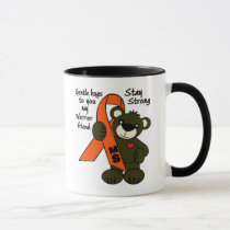 MS (Multiple Sclerosis ) teddy bear ribbon Mug