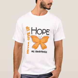 MS Never Give Up Hope Butterfly 4.1 T-Shirt