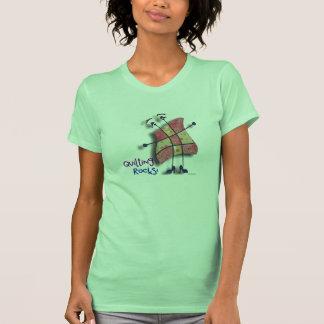 Ms Ninepatcher - camiseta de las rocas que acolcha