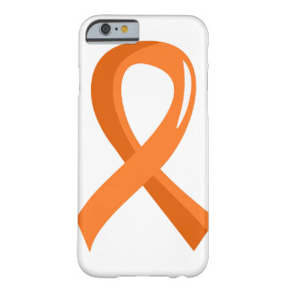 MS Orange Ribbon 3 Barely There iPhone 6 Case