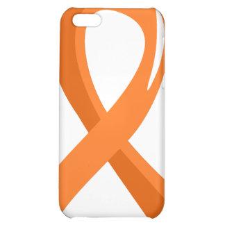 MS Orange Ribbon 3 iPhone 5C Cases