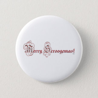 MS - Parchment Red Silver Letters Button