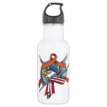 MS Patriot Stainless Steel Water Bottle