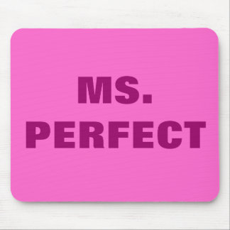 MS. PERFECT MOUSEPADS