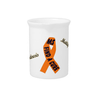 MS Pitcher with Orange ribbon