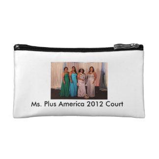 Ms. Plus America cosmetic bag