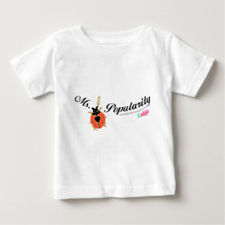 Ms. Popularity Baby T-Shirt