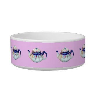 MS PRISS TEA POT CAT BOWL - VERY PRINCESSEY