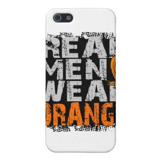 MS Real Men Wear Orange iPhone 5 Cases