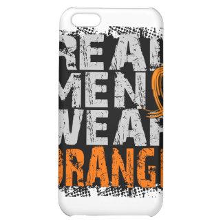 MS Real Men Wear Orange iPhone 5C Cases