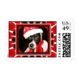 Ms Sassy Santa Stamp Estampilla