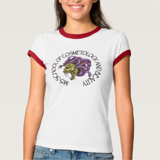 M's School of Cosmetology and Beauty Mythology T-Shirt