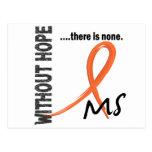 Ms sin la esperanza 1 postal