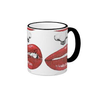 Ms Snarl Mug Taza De Dos Colores