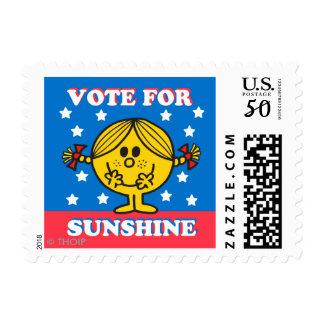 Ms. Sunshine Election - Vote For Sunshine Postage