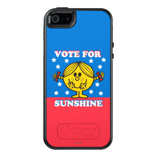 Ms Sunshine Election - voto para la sol 2 Funda Otterbox Para iPhone 5/5s/SE