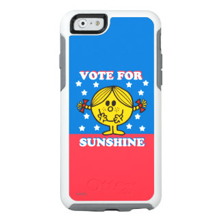 Ms Sunshine Election - voto para la sol 2 Funda Otterbox Para iPhone 6/6s