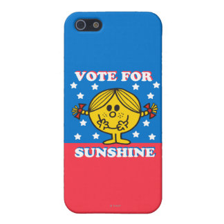 Ms Sunshine Election - voto para la sol iPhone 5 Carcasas