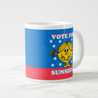 Ms Sunshine Election - voto para la sol Taza Grande