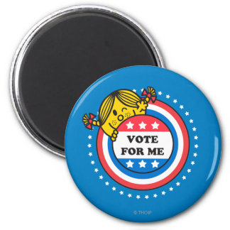 Ms. Sunshine - Vote For Me 2 Inch Round Magnet