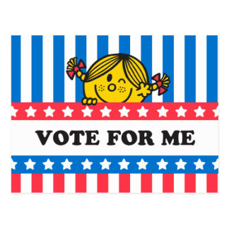 Ms. Sunshine Vote For Me Banner Postcard