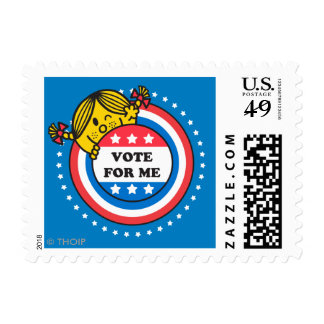Ms. Sunshine - Vote For Me Postage