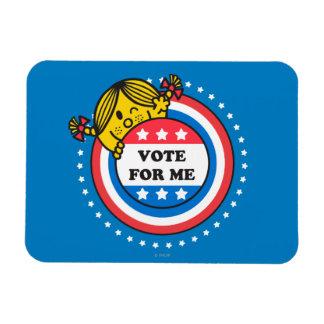 Ms. Sunshine - Vote For Me Rectangular Photo Magnet