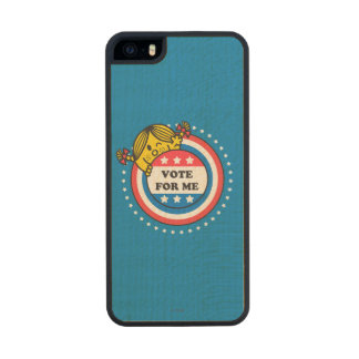 Ms Sunshine - voto para mí Funda De Arce Carved® Para iPhone 5 Slim