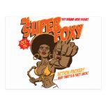 Ms Super Foxy Tarjeta Postal