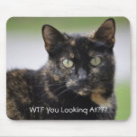 Ms. Sweetpea the Tortie Mouse Pad