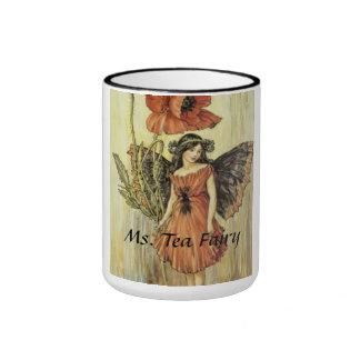 Ms Tea Fairy de la taza de café