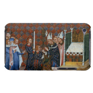 Ms Tiberius B Viii f.58 Coronation of King Charles Barely There iPod Case